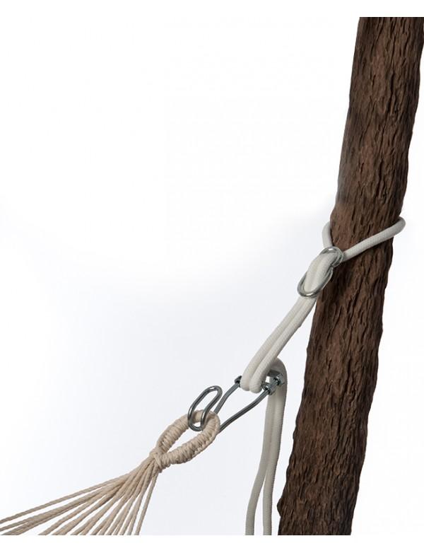 Metal support - Rope pro hammock fixing kit